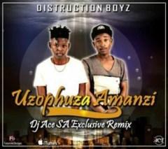 Distruction Boyz - Uzophuza Amanzi (DJ Ace SA Remix)